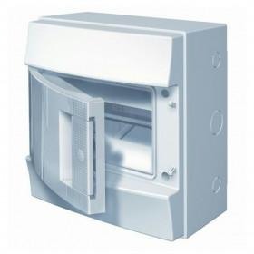 1SL1101A00 Бокс ABB Mistral65 настенный 8м без клемм непрозрачная дверь