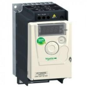 ATV12H037M3 Преобразователь частоты 3 фазы, 240V, мощность 0,37кВт(ALTIVAR 12)