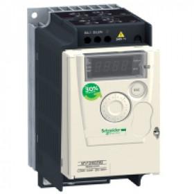 ATV12H075M2 Преобразователь частоты 1 фаза, 240V, мощность 0,75кВт(ALTIVAR 12)