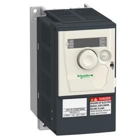 ATV312H075M2B Преобразователь частоты 1 фаза, 240V, мощность 0,75кВт(ALTIVAR 312) с фильтром ЭМС, БК