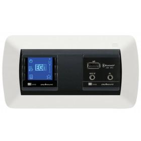 41020 EGI Встраиваемое FM радио в стену с Bluetooth и USB-MP3, вход и выход мини-джек 3,5 мм