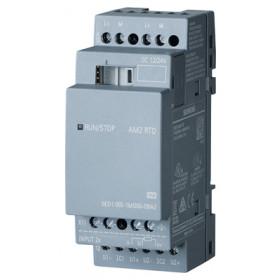 6ED1055-1MD00-0BA2 Аналоговый модуль расширения LOGO!8 AM2  RTD пит. 24V DC, 2 AI, сиг.-50,,,+200°C