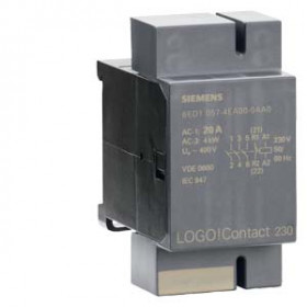 6ED1057-4EA00-0AA0 Модуль коммутации LOGO! Compact 230, 20А 400V AC, катушка 230V