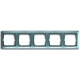 Рамка 5-ая ABB Basic 55 Bistro-Голубой 1725-0-1525 IP20