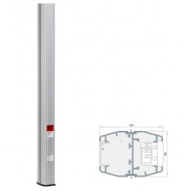 911285BS Колонна 2-стороняя(Codi MC 110/80-285), высота 2,85 метра, 110х80мм, Алюминий