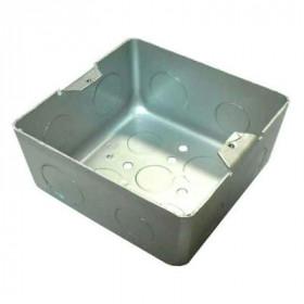 70116 BOX/1,5S Коробка для лючка на 1,5 модуля 45*45 мм, Сталь