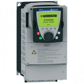 ATV71H037M3 Преобразователь частоты 3 фазы, 240V, мощность 0,37кВт(ALTIVAR 71) IP20