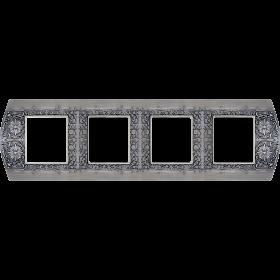 FD01424AS Рамка 4-ая(SANREMO), Antic Silver