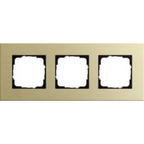 0213217 Рамка 3-ая(ESPRIT), Алюминий Золотой