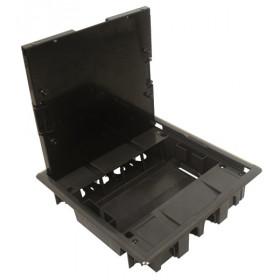 83008 CCZ Лючок напольный на 8 механизмов 45х45мм, Серый