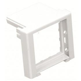 83230 ABR Заглушка-адаптер на торец розеточного блока 45х45 мм