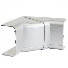 09551G Угол внутренний 90х50мм изменяемый (70-120°) In-Liner Aero Алюминий ДКС(DKC), Серый металлик