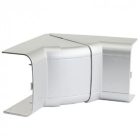 01051G Угол внутренний 110х50мм изменяемый (70-120°) In-Liner Aero Алюминий ДКС(DKC), Серый металлик