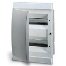 1SL0502A06 Бокс встраеваемый 2*12 модулей(Unibox) с белой дверью IP41 с клеммным блоком