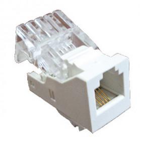 855600 Механизм розетки телефонной RJ-12 (6 контакта) LK45