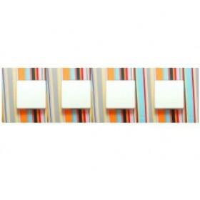 2700647-801 Рамка-декор 4-ая для 2700640-03., Simon 27 Play, EXTREM Многоцветный Поток