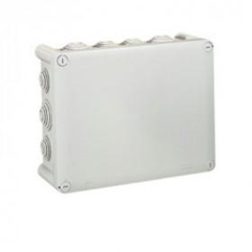 92082 Коробка распределительная Plexo IP55 открытого монтажа, 310х240х124мм, СЕРЫЙ