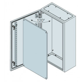 SRN4315K ABB Шкаф металлический SR2 IP65 с монтажной платой 400х400х200мм ВхШхГ