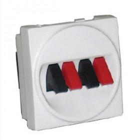 857400 Механизм аудио-розетки 4 зажима (LK45)