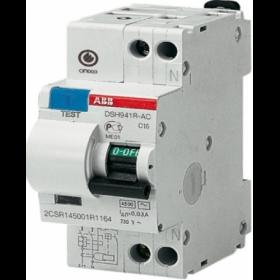 """2CSR145001R1104 Дифференциальные авт.выключатель(DSH941R) 1Р+N 10А 30мA 4.5кА хар.""""C"""" тип АС"""