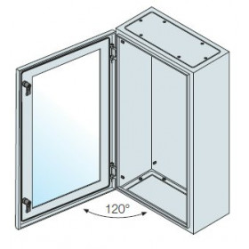 SRN6420VK ABB Шкаф металлический SR2 IP65 дверь со стеклом без монтаж.платы 600х400х200мм ВхШхГ