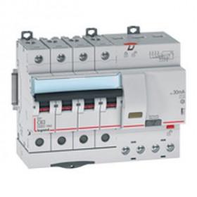 """411210 Дифференциальные авт.выключатель(DX3) 4P 50А 300мА  6кА, хар. """"С"""" тип AС"""