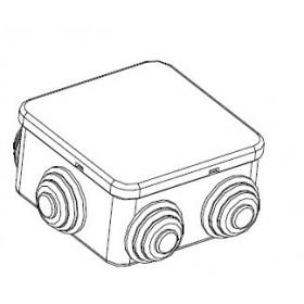 44072 Коробка распределительная IP44 открытого монтажа(JBS065), 65х65х40мм