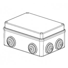 44008 Коробка распределительная IP55 открытого монтажа(JBS120), 120х80х50мм