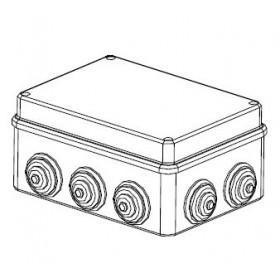 44010 Коробка распределительная IP55 открытого монтажа(JBS190), 190х140х70мм