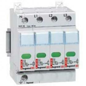 03923 Legrand Устройстро защиты от импульсных перенапряжений(УЗИП) Тип 2, 4Р Imax 70кА 400В