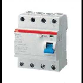 "2CSF204001R1630 Выключатель диф.тока(УЗО) 4-полюса 63А 30мА тип ""AC"" (ABB серия F204 AC-63/0.03)"