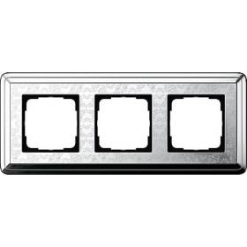 Рамка 3-ая Gira ClassiX Art Хром 213681 IP20