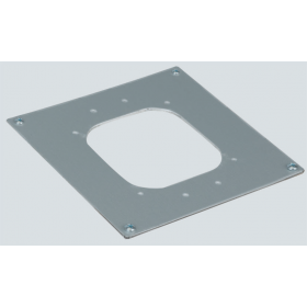 ALKA02-8 Накладка-адаптер для установки миниколонн K45 на цоколи КТА8..., алюминий