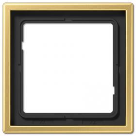 Рамка 1-ая Jung LS990 Латунь Classic ME2981C IP20
