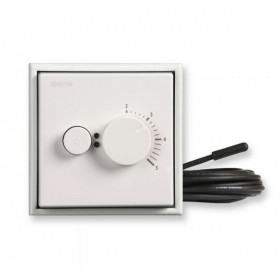ECOINTRO10FWW Терморегулятор Ensto с датчиком тёплого пола, 2300 Вт, 10 А, Intro, Белый