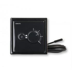 ECOINTRO16FRSW Терморегулятор с датчиками воздуха и тёплого пола, 3600 Вт,16 А, Intro, Чёрный