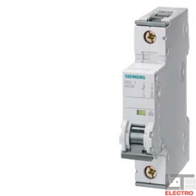 5SY41057 Автоматический выключатель, 1Р, 0.5А, хар. С, 10кА