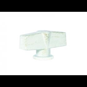 Поворотная ручка Fede White Decape FD02312BD Модерн
