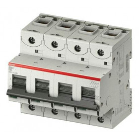 """2CCS884001R0164 Автоматический выключатель 4-полюса 16А хар. """"С""""  25кА (ABB S804C) ширина 6 модулей"""