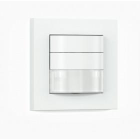 033002 Датчик присутствия ИК IR 180 COM2 с выключателем встраиваемый 180гр, IP 20, Белый