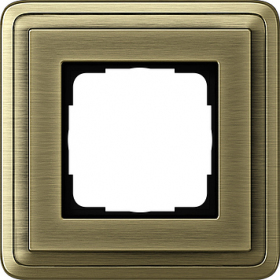 Рамка 1-ая Gira ClassiX Бронза 211621 IP20