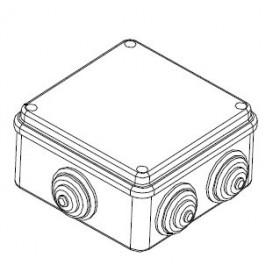 44007 Коробка распределительная IP55 открытого монтажа(JBS100), 100х100х55мм