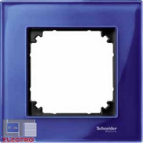 Рамка 1-ая Merten M-Elegance Сапфир MTN4010-3278 IP20