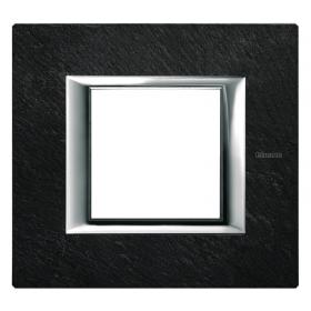 Рамка 1-ая Bticino Axolute Черный мрамор Ардезия HA4802RLV IP20