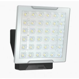 010034 XLed Pro Square Slave Прожектор светодиодный 24,8Вт с датчиком движения IP 54, Чёрный
