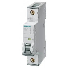 5SY61017 Автоматический выключатель, 1Р, 1А, хар. С, 6кА