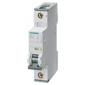 5SY61057 Автоматический выключатель, 1Р, 0.5А, хар. С, 6кА