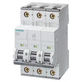 5SY63637 Автоматический выключатель, 3Р, 63А, хар. С, 6кА