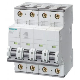 5SY64087 Автоматический выключатель, 4Р, 8А, хар. С, 6кА