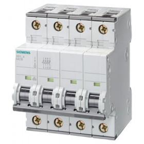 5SY64637 Автоматический выключатель, 4Р, 63А, хар. С, 6кА
